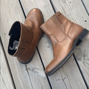 New Ecco Gore-Tex Leather Ankle Boots size 6